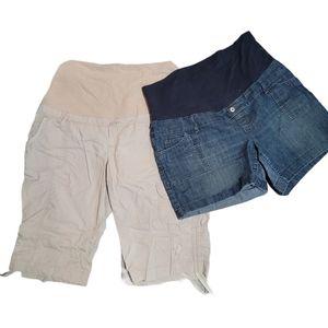 🍁3/$30 Thyme Maternity Jean & Cargo Size X